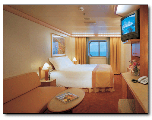 Inside Cabin Picture - How many cabins on a cruise ship